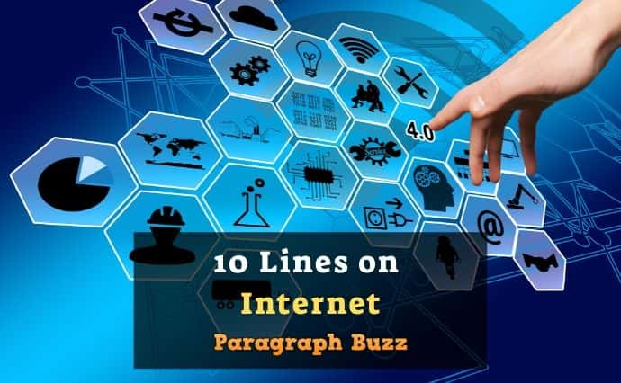 10 Lines on Internet in English for Students