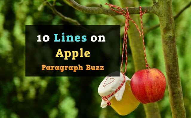 10 Lines on Apple
