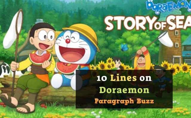 10 Lines on Doraemon in English