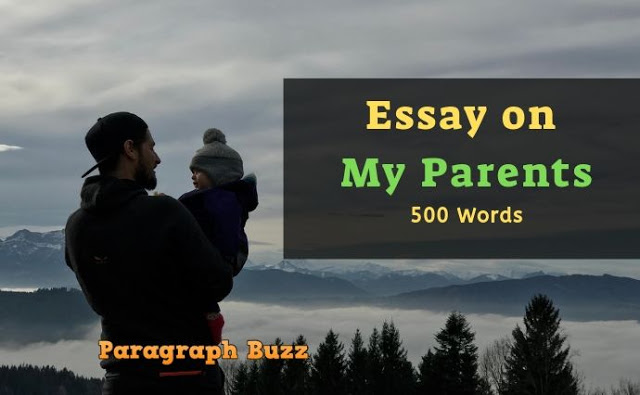 Essay on My Parents in 500 Words