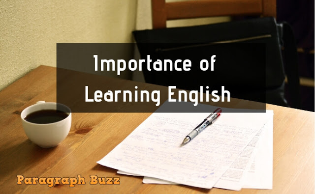 Paragraph on Importance of Learning English