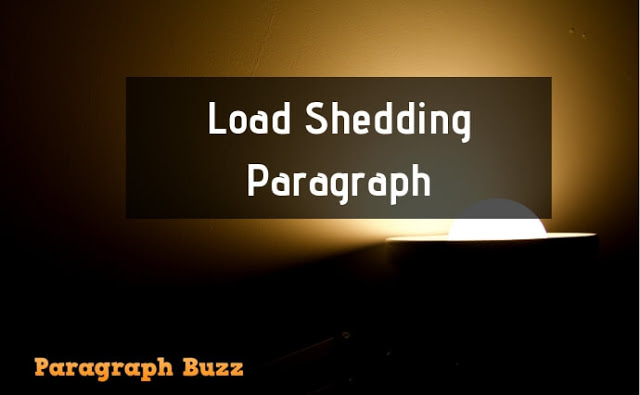 Paragraph about Load Shedding