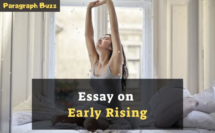 essay on early rising