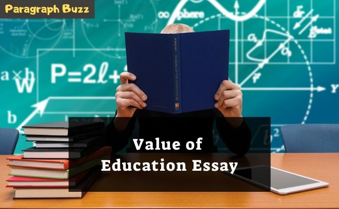 essay on value of education