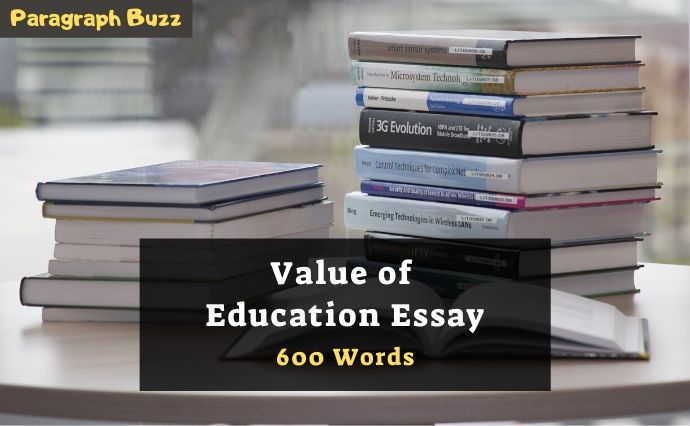 Importance Of Value Based Education, Essay Sample