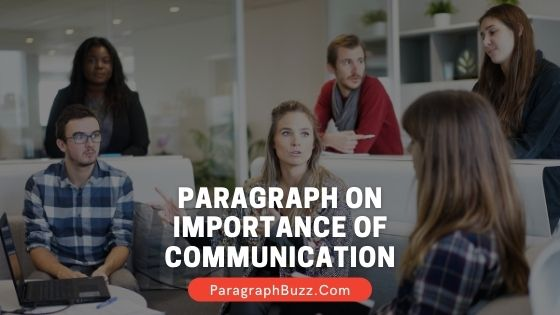 Paragraph on Importance of Communication